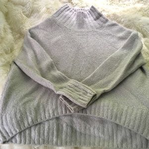 H&M Mock neck Exclusive Chunky Sweater Oversized